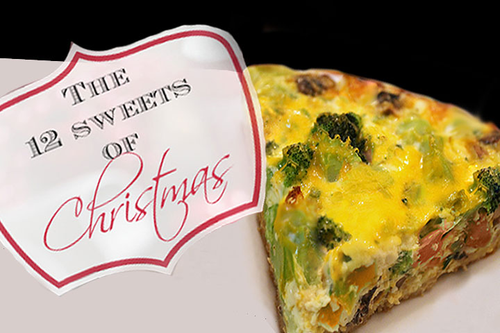 12 Sweets of Christmas - Broccoli Pie