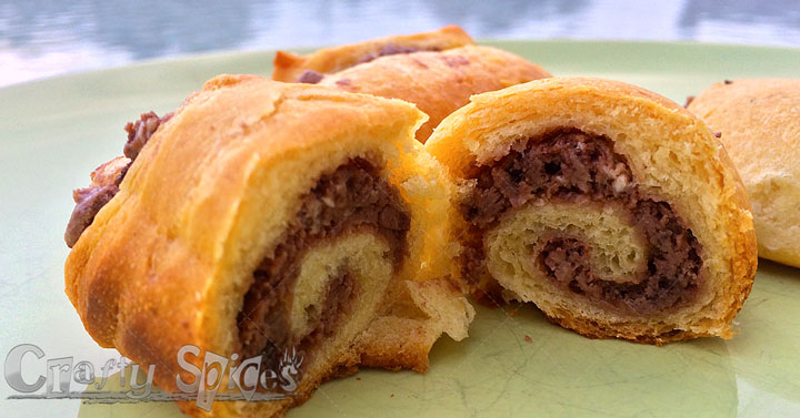 Chocolate-Mini crescent Rolls