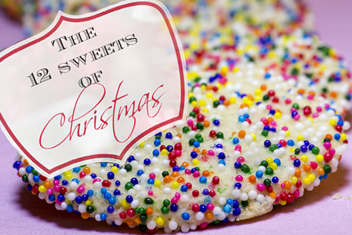 12 Sweets of Christmas - Santa's Sugar Cookies