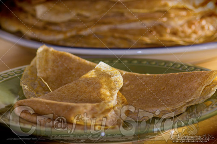 Basic Whole Wheat Crepe