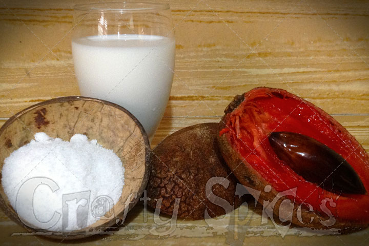 Sapote Milkshake Ingredients