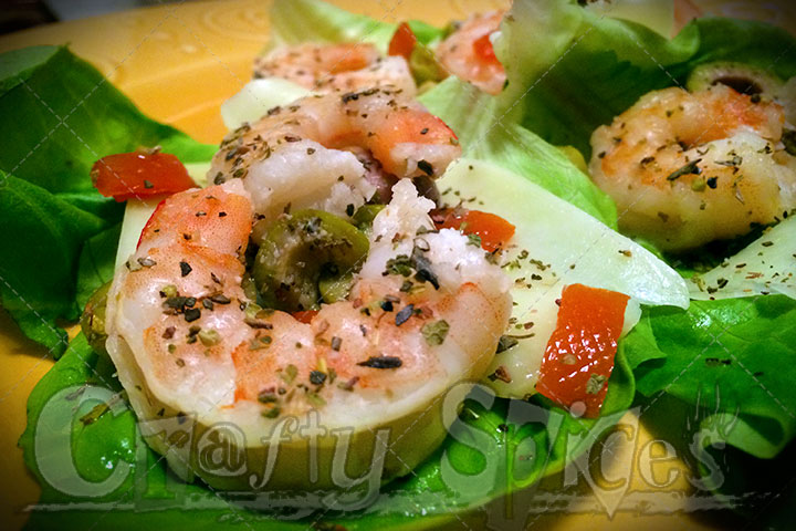Delicate Shrimp appetizer