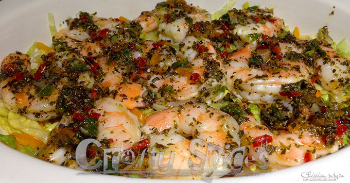 Seasoned Shrimp - Salad topper
