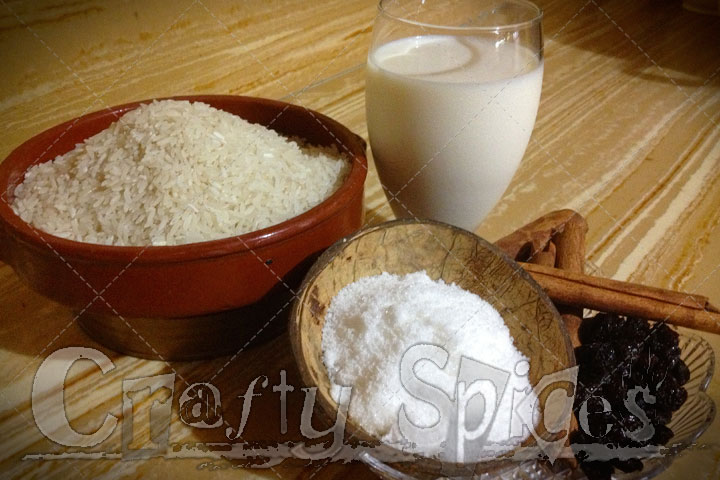 Rice Pudding (Arroz con Dulce) Ingredients