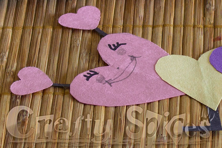 Valentines Caterpillar Fun Kids Craft - Learning Time