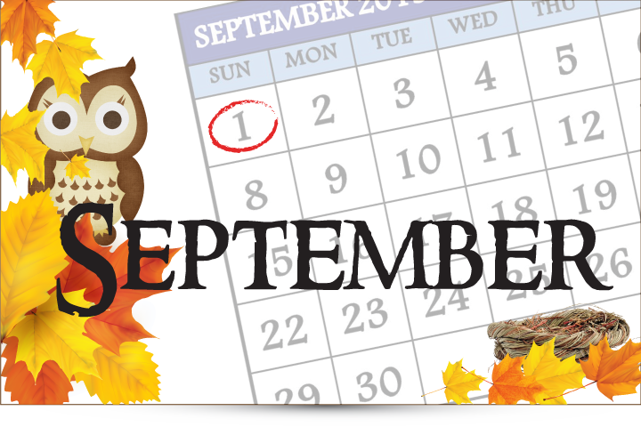 September is the month!
