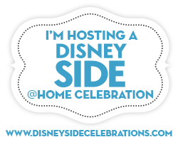 I'm hosting a #DisneySide @Home Celebration!