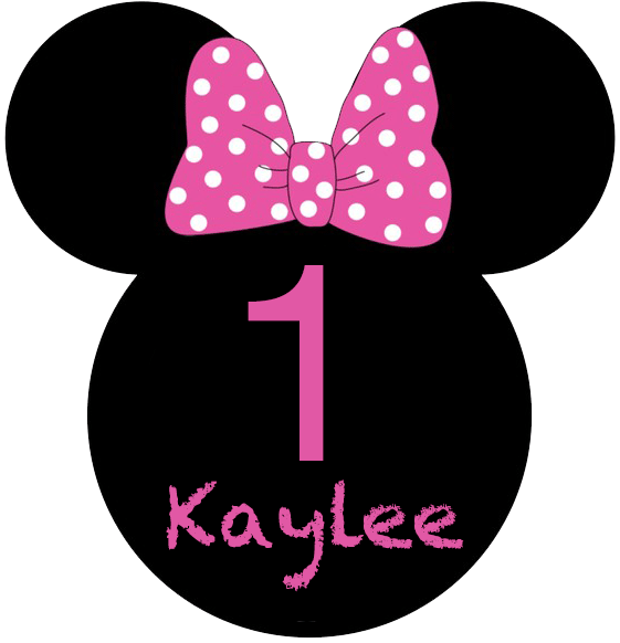 Happy Birhtday First Birthday Kaylee