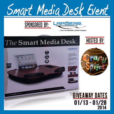 Sign up for the Smart Media Desk Blogger Opp. Event starts 1/13.