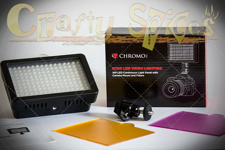 Chromo CL160 LED video lighting