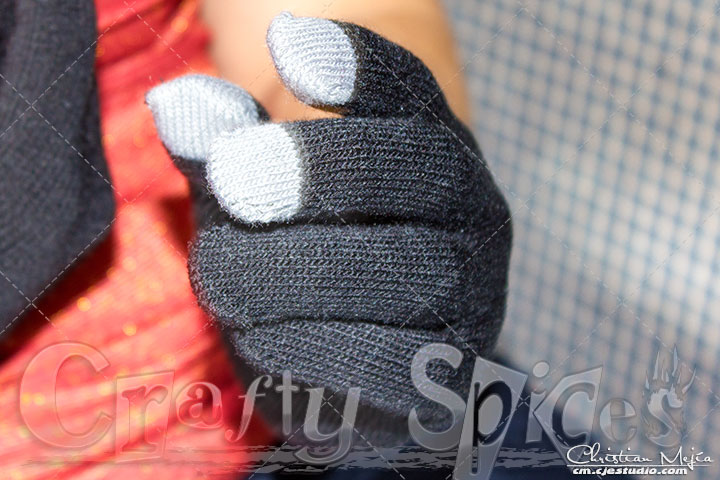 Texting Gloves for Smartphone & Touchscreen - Finger tips