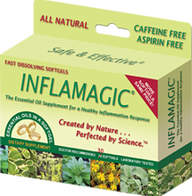 Inflamagic an all natural essential oils formula, that provides muscle and joint pain relieve