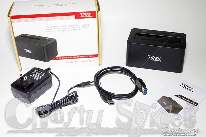 Liztek HDDT1BSA USB 3.0 to SATA Bay unboxed
