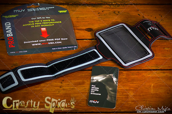 IPhone 5 Armband - Pro Athlete Quality from MuvUSA