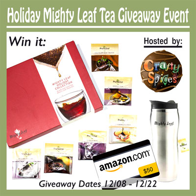 Mighty Leaf Tea Giveaway Event