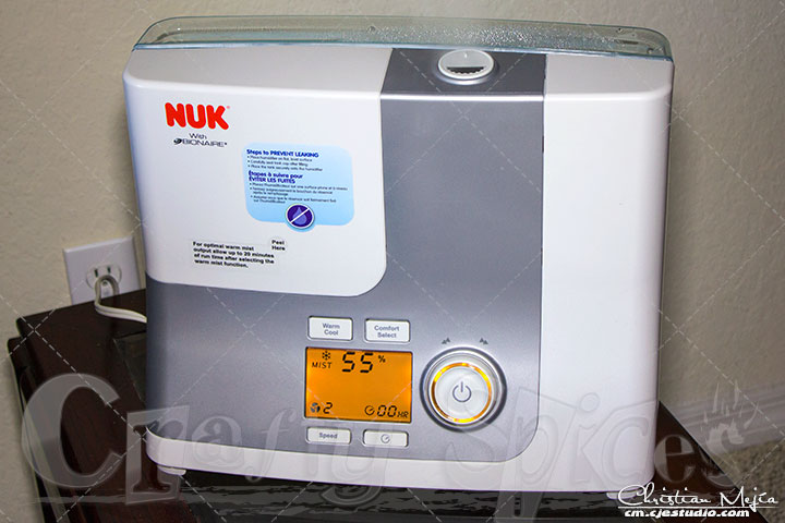 NUK® Powered by Bionaire® Ultrasonic Warm & Cool Mist Humidifier