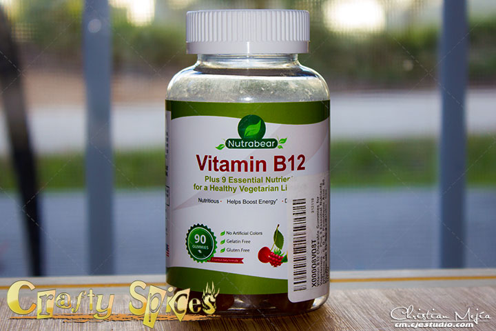 Nutrabear Vitamin B12 Gummy Bear