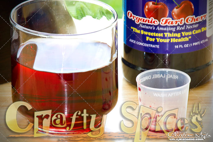 Organic Tart Cherry Juice- Ultimate Antioxidant Vegetarian Organic Certified
