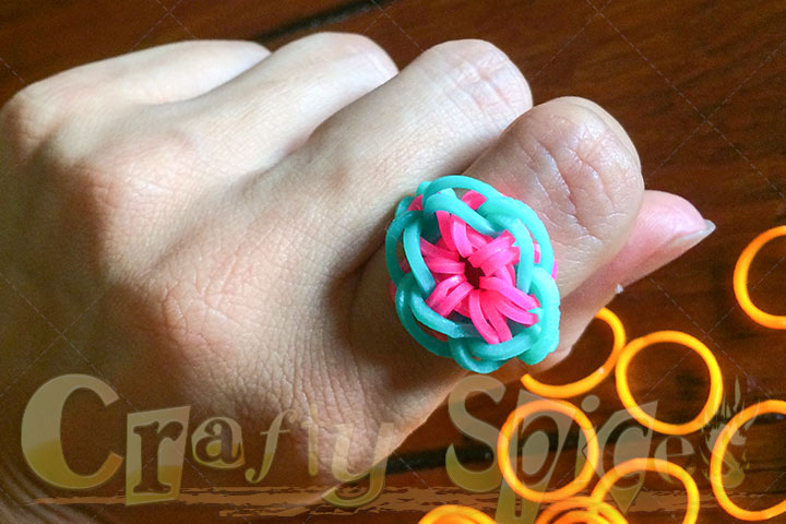 7200 Band MEGA Loom Band - Our new ring