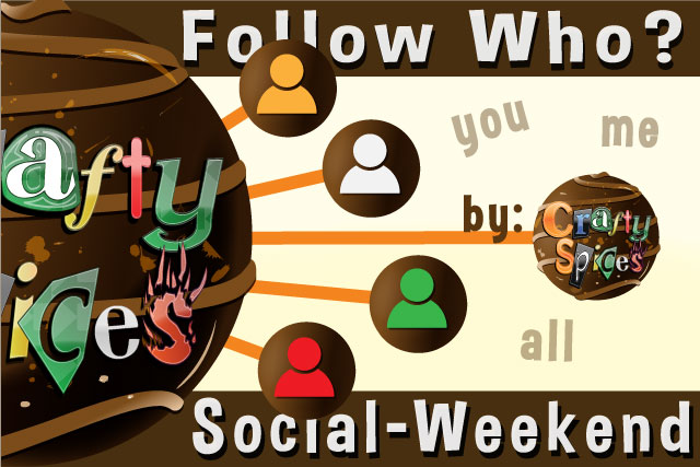 Follow Who?  Social Weekend Hop #1