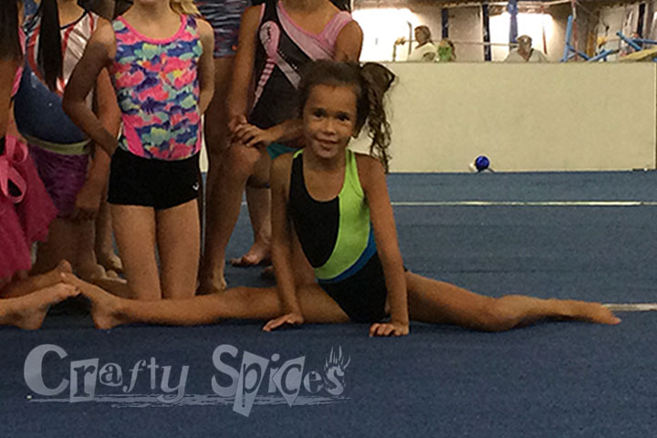 Fun at Gymnastics