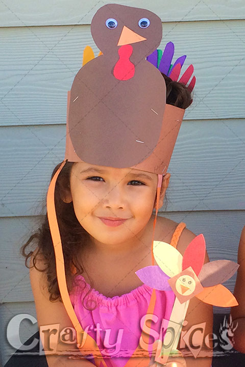 Turkey Crafts kid