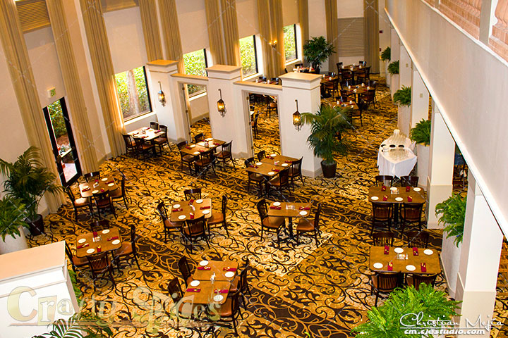 One of the hotel restaurants