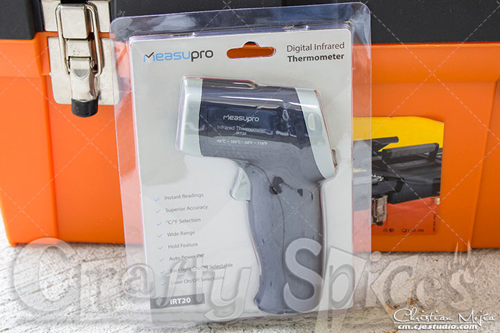 MeasuPro IRT20 Temperature Gun Non-Contact Infrared Thermometer with Laser Targeting